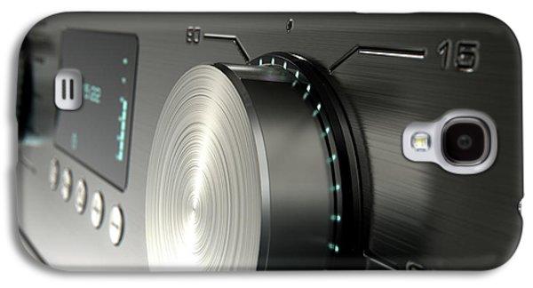 Modern Washing Machine Closeups Galaxy S4 Case by Allan Swart