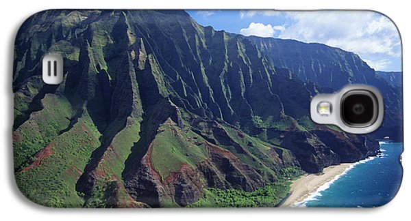 Printscapes - Galaxy S4 Cases - Na Pali Coast Aerial Galaxy S4 Case by Bob Abraham - Printscapes