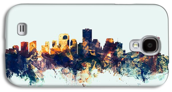 New Orleans Louisiana Skyline Galaxy S4 Case by Michael Tompsett