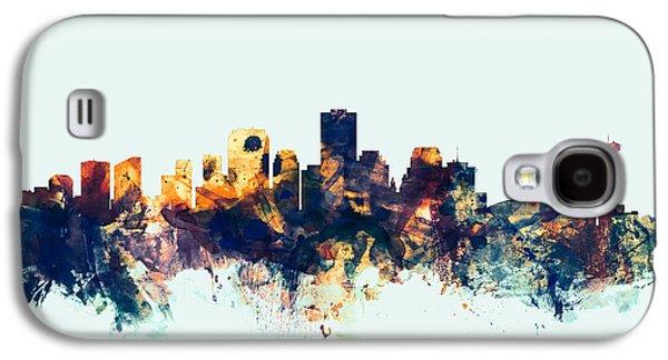 New Orleans Louisiana Skyline Galaxy S4 Case by Michael Tompsett