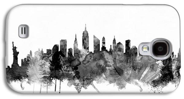 New York City Skyline Galaxy S4 Case by Michael Tompsett