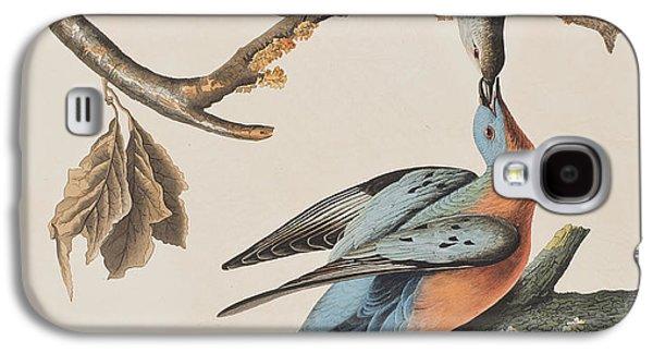 Passenger Pigeon Galaxy S4 Case by John James Audubon