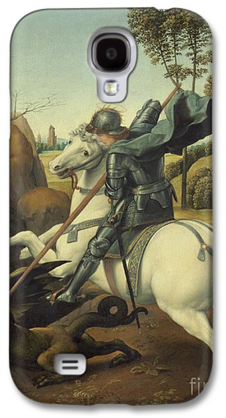 Saint George And The Dragon Galaxy S4 Case by Raphael