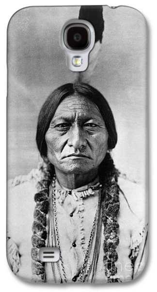 Bull Galaxy S4 Case - Sitting Bull 1834-1890. To License For Professional Use Visit Granger.com by Granger
