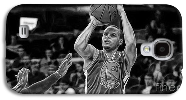 Steph Curry Collection Galaxy S4 Case by Marvin Blaine