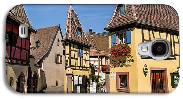 Streets Of Eguisheim Galaxy S4 Case by Yefim Bam