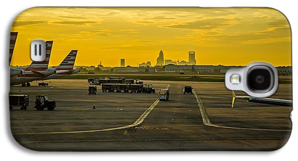 Sun Rising Early Morning Over Charlotte Skyline Seen From Clt Ai Galaxy S4 Case