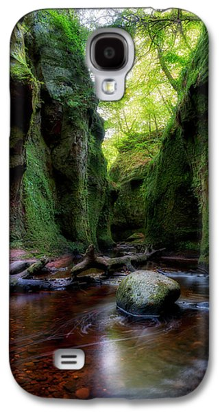 The Devil Pulpit At Finnich Glen Galaxy S4 Case