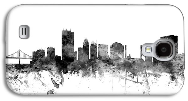 Toledo Ohio Skyline Galaxy S4 Case