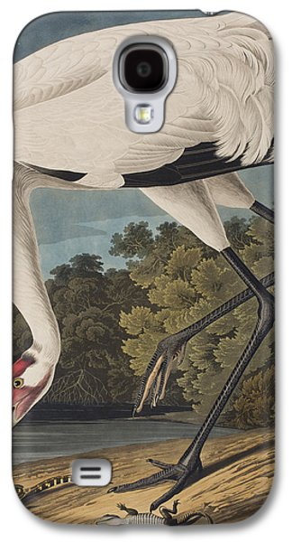 Whooping Crane Galaxy S4 Case by John James Audubon
