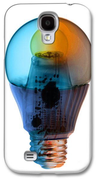 X-ray Of An Energy Efficient Light Galaxy S4 Case by Ted Kinsman