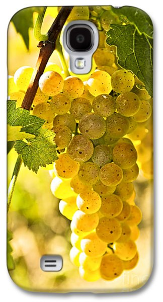 Yellow Grapes Galaxy S4 Case by Elena Elisseeva