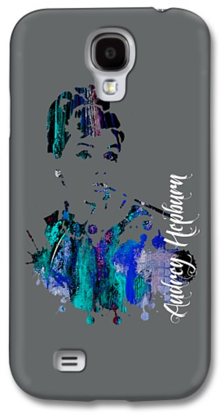Audrey Hepburn Collection Galaxy S4 Case by Marvin Blaine