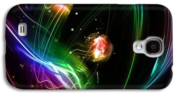 Abstract Background Galaxy S4 Case by Les Cunliffe