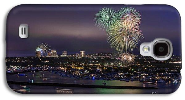 4th Of July Fireworks Galaxy S4 Case by Eddie Yerkish
