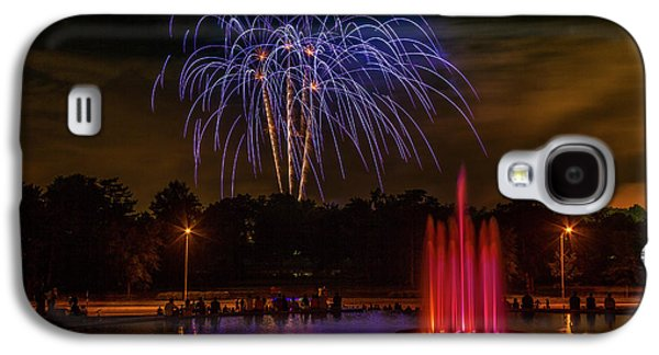 4th Of July Fireworks In Forest Park Galaxy S4 Case