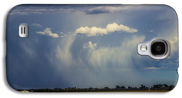 Nebraskasc Galaxy S4 Case - Afternoon Nebraska Thunderstorm by NebraskaSC