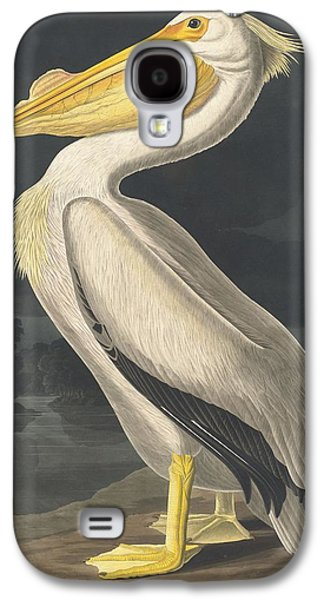 American White Pelican Galaxy S4 Case by Rob Dreyer