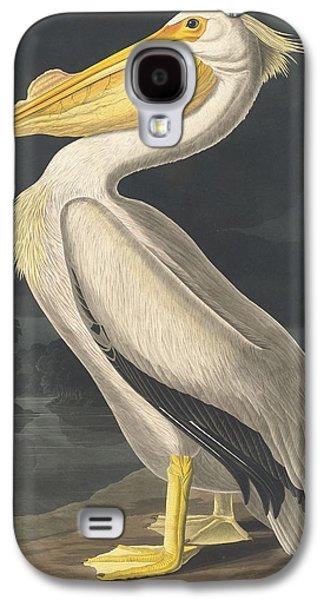 American White Pelican Galaxy S4 Case