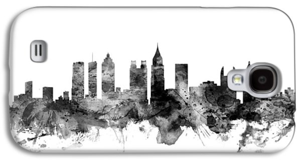 City Scenes Galaxy S4 Case - Atlanta Georgia Skyline by Michael Tompsett