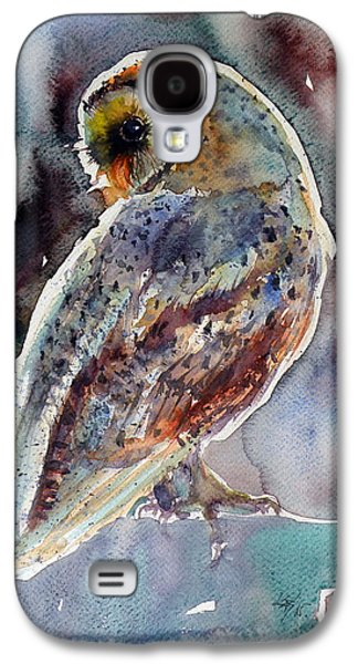 Barn Owl Galaxy S4 Case