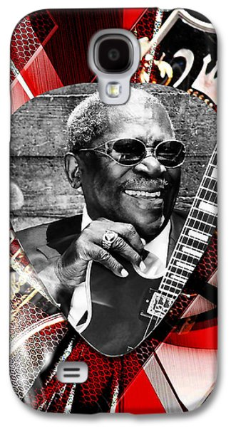 Bb King Art Galaxy S4 Case by Marvin Blaine