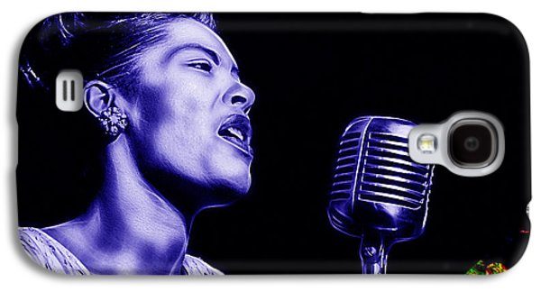 Billie Holiday Collection Galaxy S4 Case by Marvin Blaine