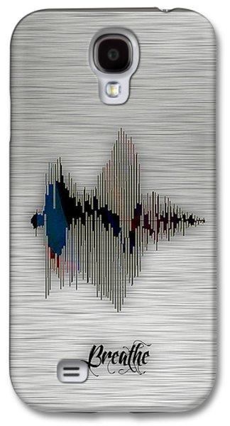 Breathe Spoken Soundwave Galaxy S4 Case by Marvin Blaine