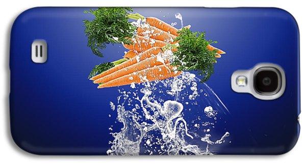 Carrot Splash Galaxy S4 Case
