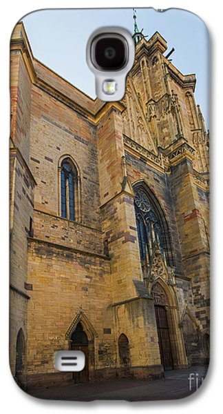 Cathedral Of Saint Martin In Colmar Galaxy S4 Case by Yefim Bam
