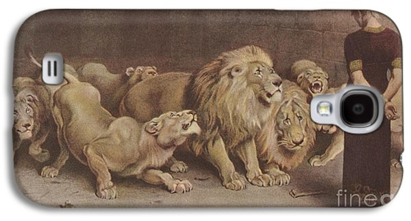 Daniel In The Lions Den Galaxy S4 Case by MotionAge Designs