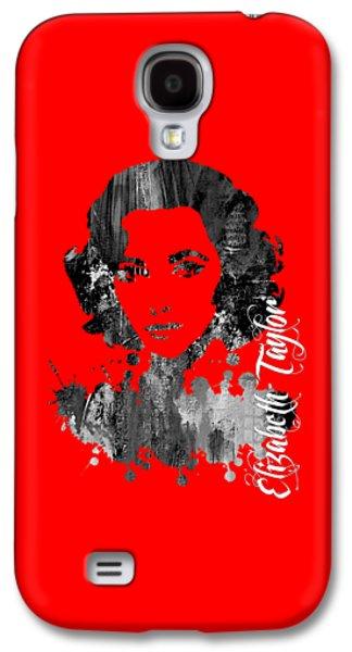 Elizabeth Taylor Collection Galaxy S4 Case