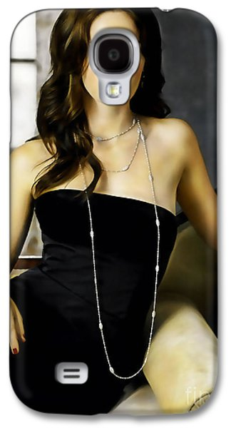 Emily Blunt Collection Galaxy S4 Case by Marvin Blaine