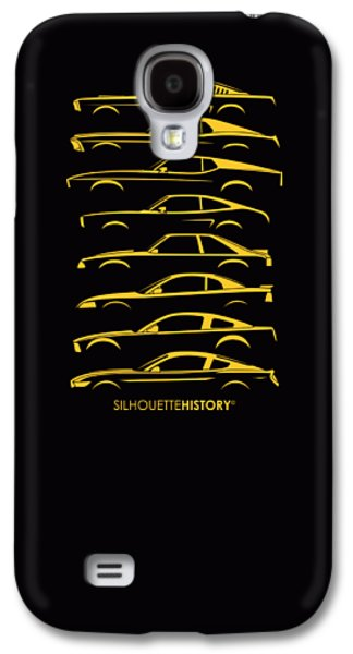 Ford Mustang Silhouettehistory Galaxy S4 Case