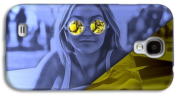 Gigi Hadid Collection Galaxy S4 Case by Marvin Blaine