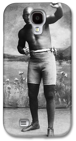 Boxer Galaxy S4 Cases - Jack Johnson (1878-1946) Galaxy S4 Case by Granger