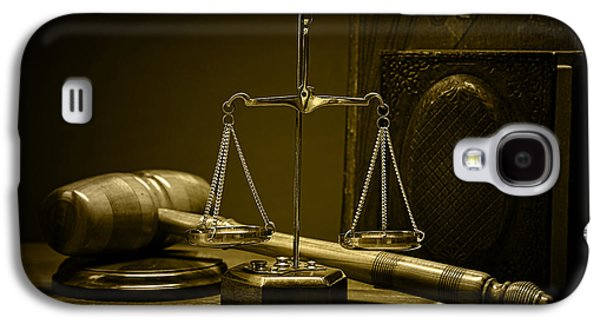 Law Office And Judge Collection Galaxy S4 Case