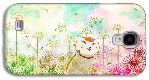 Design Galaxy S4 Case - Natsume's Book Of Friends by Super Lovely
