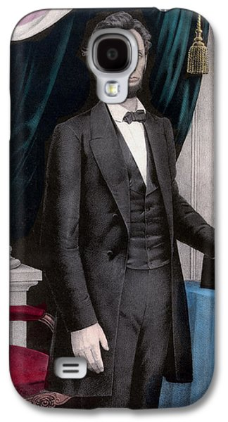 President Abraham Lincoln Galaxy S4 Case by War Is Hell Store