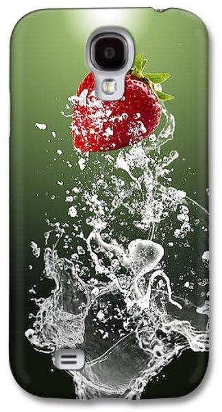 Strawberry Splash Galaxy S4 Case