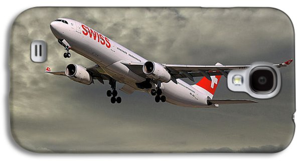 Jet Galaxy S4 Case - Swiss Airbus A330-343 by Smart Aviation