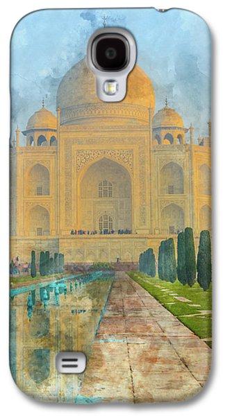 Taj Mahal In Agra India Galaxy S4 Case