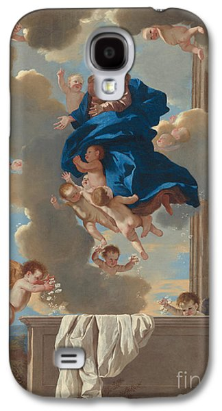 The Assumption Of The Virgin Galaxy S4 Case by Nicolas Poussin