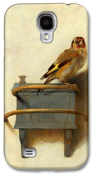 Meadowlark Galaxy S4 Case - The Goldfinch by Carel Fabritius