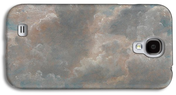 Title Cloud Study Galaxy S4 Case by John Constable