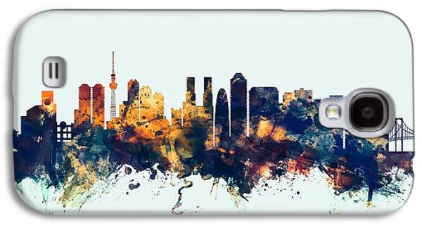 Tokyo Japan Skyline Galaxy S4 Case