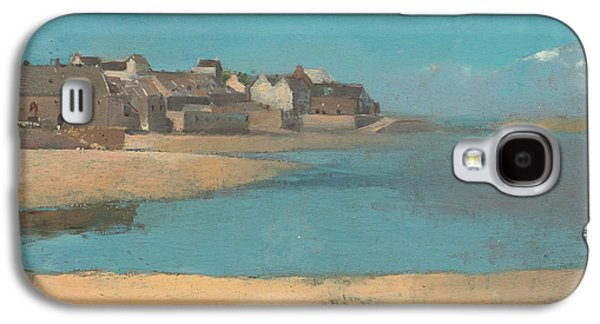 Village By The Sea In Brittany Galaxy S4 Case