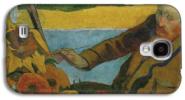 Vincent Van Gogh Painting Sunflowers  Galaxy S4 Case