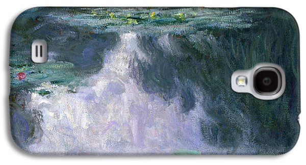 Vines Galaxy S4 Cases - Waterlilies Galaxy S4 Case by Claude Monet