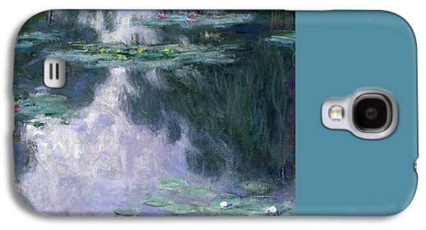 Impressionism Galaxy S4 Case - Waterlilies by Claude Monet